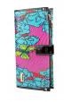 Цветной кожаный женский кошелек VF 6608