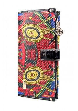 Фото Цветной кожаный женский кошелек VF 68600-28