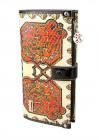 Светлый кожаный женский кошелек VF 6625