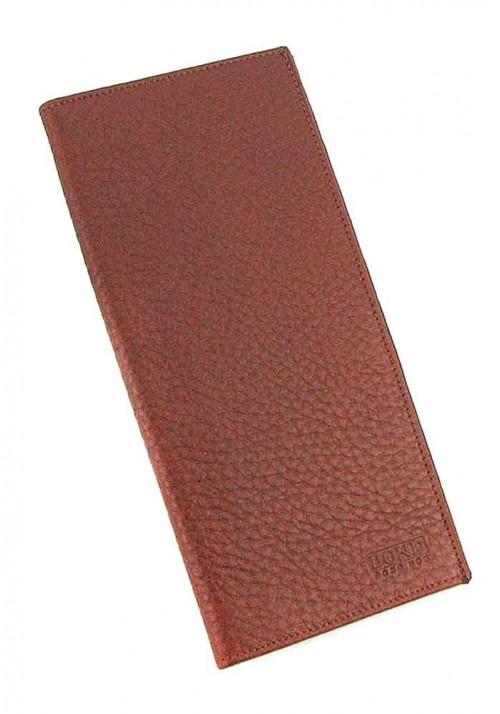 Кожаный купюрник Bond 574 коричневый