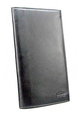 Фото Кожаный купюрник Bond 576-1 черный
