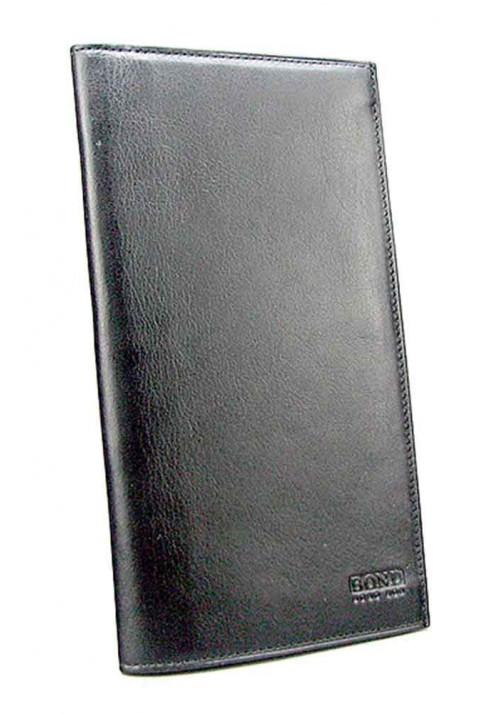 Кожаный купюрник Bond 576-1 черный
