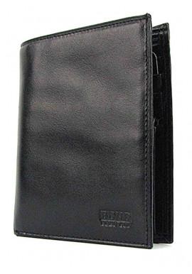 Фото Вертикальный кожаный мужской кошелек Bond 525