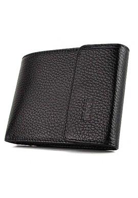 Фото Компактный кожаный мужской кошелек Bond 543-281