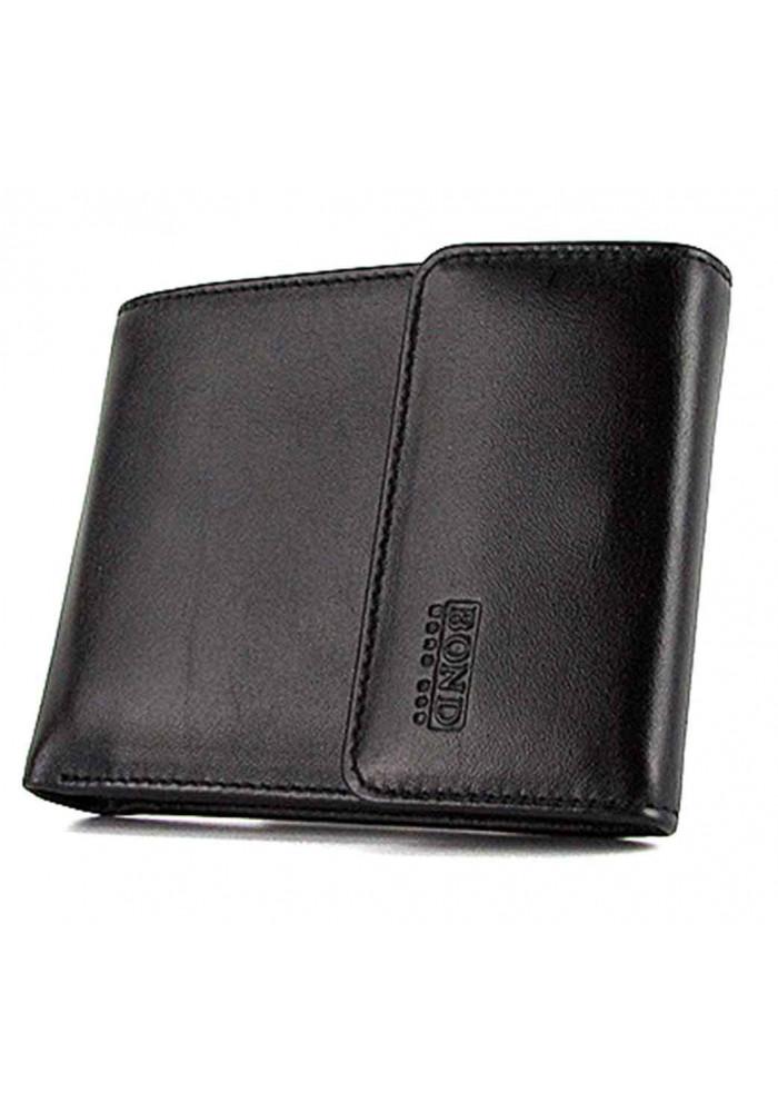 Мужской кошелек из гладкой кожи Bond 543-1