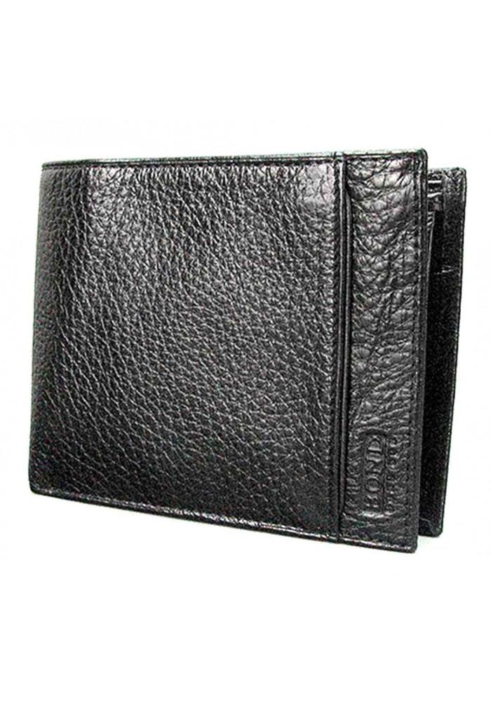 Кожаный мужской кошелек без застежки Bond 581