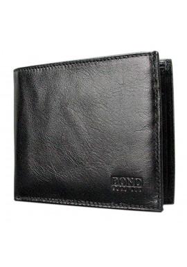 Фото Мужской кошелек из гладкой кожи Bond 563