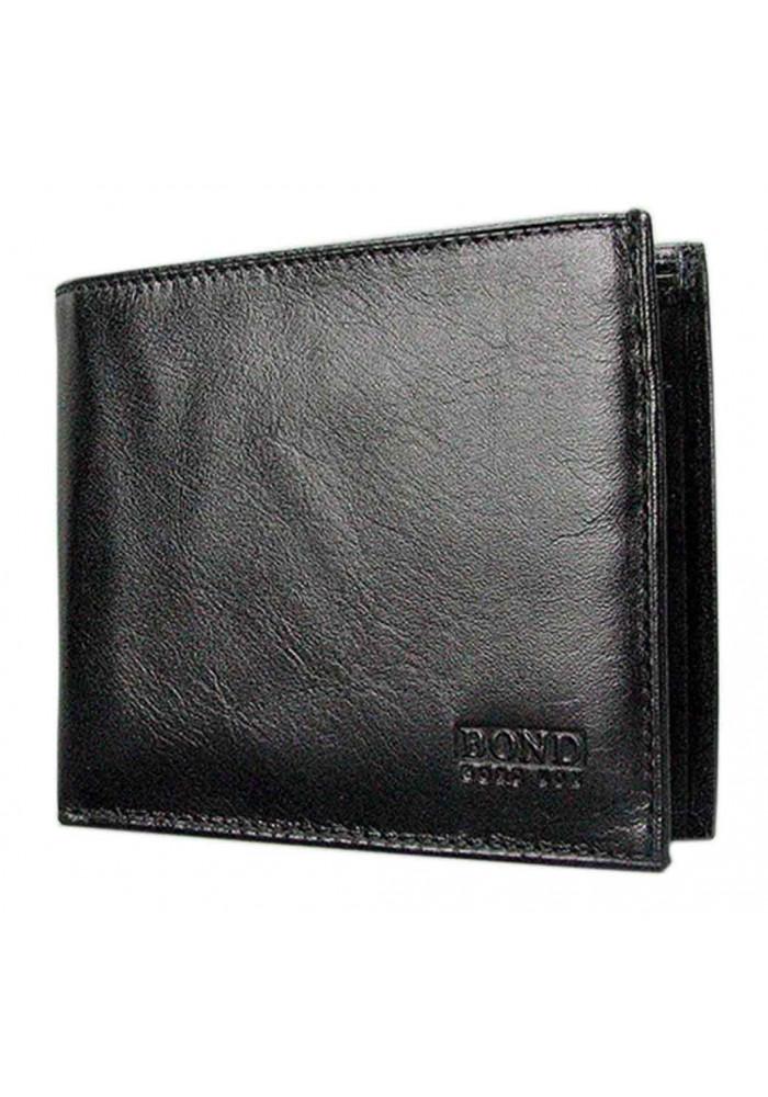 Мужской кошелек из гладкой кожи Bond 563