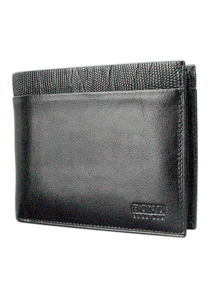 Мужской кошелек из натуральной кожи Bond 404