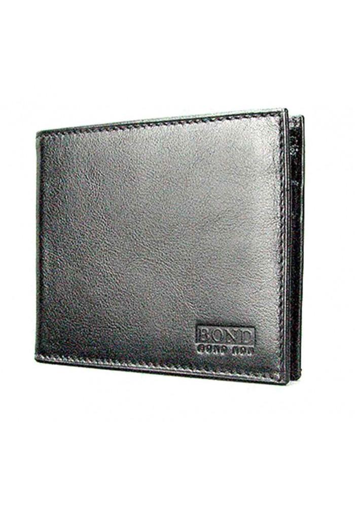 Маленький мужской кожаный кошелек Bond 196