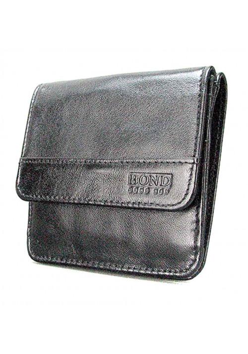 Небольшой мужской кожаный кошелек Bond 555