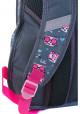 Серый подростковый рюкзак с котиками T -27 Cats