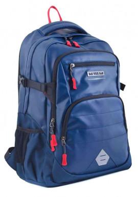 Фото Классический синий рюкзак для мальчика T -31 Ray
