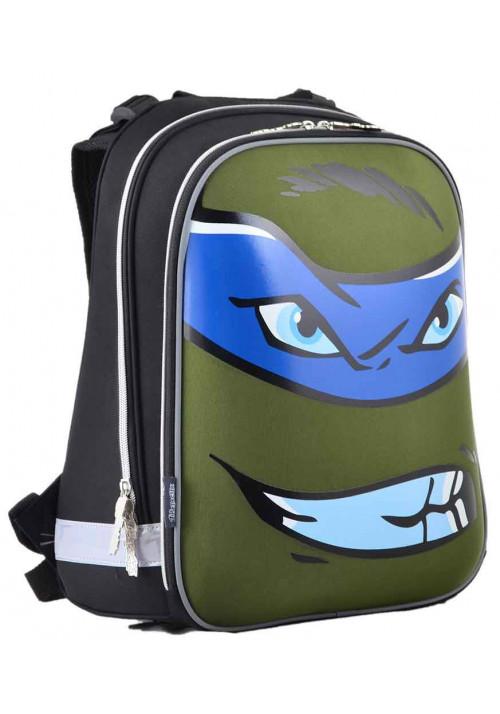 Школьный каркасный ранец H-12 Turtles face