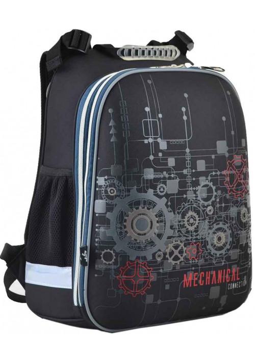 Рюкзак каркасный для школы YES H-12 Mechanical