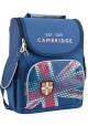 Ранец для школы YES H-11 Cambridge blue - интернет магазин stunner.com.ua