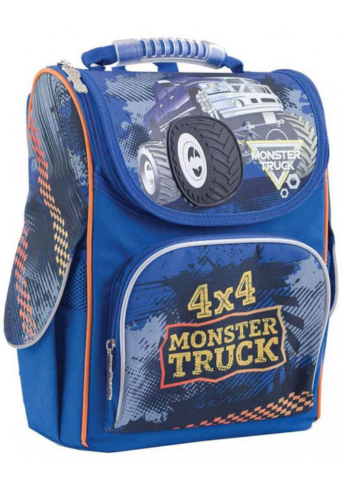 Рюкзак мальчику в школу YES H-11 Monster Truck
