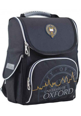 Черный школьный рюкзак YES H-11 Oxford black