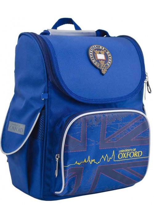 Синий школьный рюкзак YES H-11 Oxford blue
