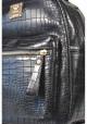 Черный молодежный женский рюкзачок