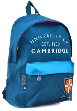 Фото Синий рюкзак из ткани YES CA-15 Blue