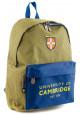 Зеленый рюкзак из ткани YES CA-15 Khaki - интернет магазин stunner.com.ua
