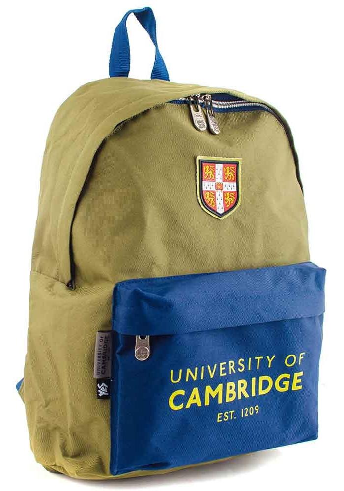 Зеленый рюкзак из ткани YES CA-15 Khaki