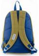 Зеленый рюкзак из ткани YES CA-15 Khaki, фото №3 - интернет магазин stunner.com.ua