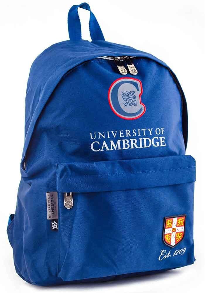 Синий рюкзак из ткани YES Cambridge Street CA-15 Navy