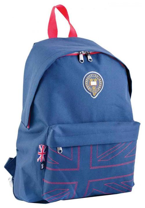 Рюкзак подростковый YES Oxford Street OX-15 Dark Blue