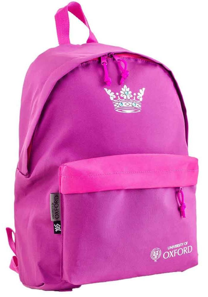Рюкзак для девочки подростка YES Oxford Street OX-15 Purple