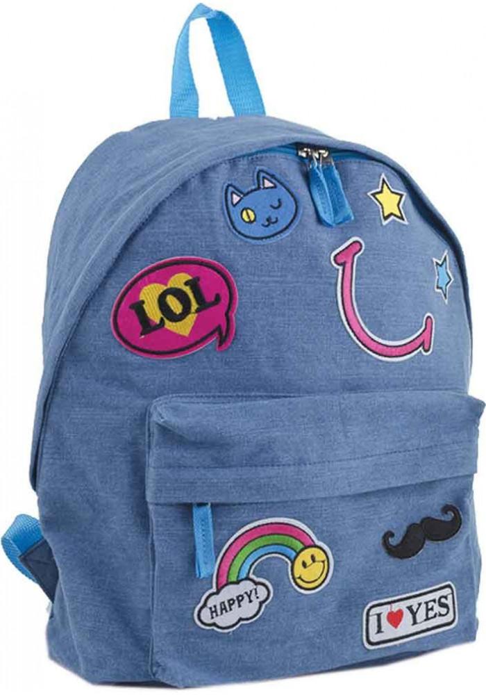 Джинсовый рюкзак YES ST-15 Jeans LOL