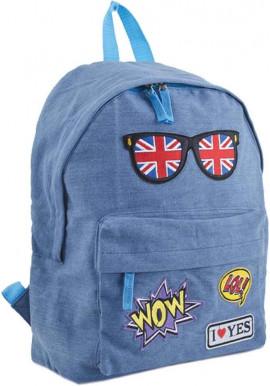 Фото Джинсовый рюкзак YES ST-15 Jeans London