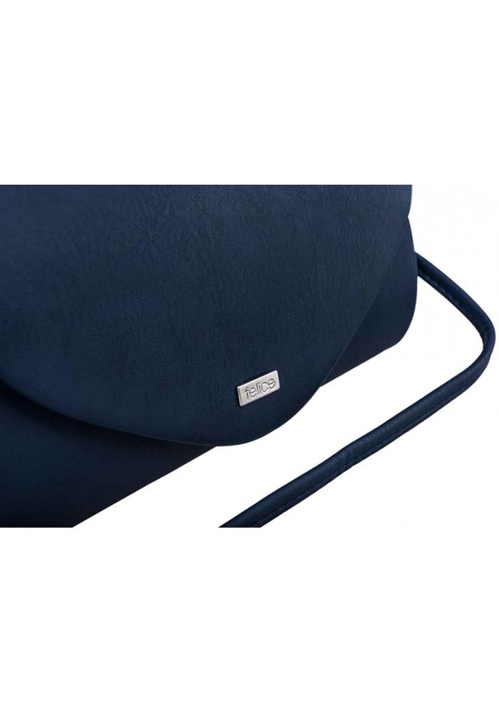 47bf205efff8 ... Женский матовый клатч Felice F15 темно-синий, фото №5 - интернет  магазин stunner ...