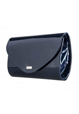 Фото Женский клатч из лаковой экокожи Felice F15 темно-синий