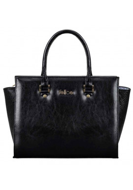 Фото Женская кожаная сумка Felice Gatto Black