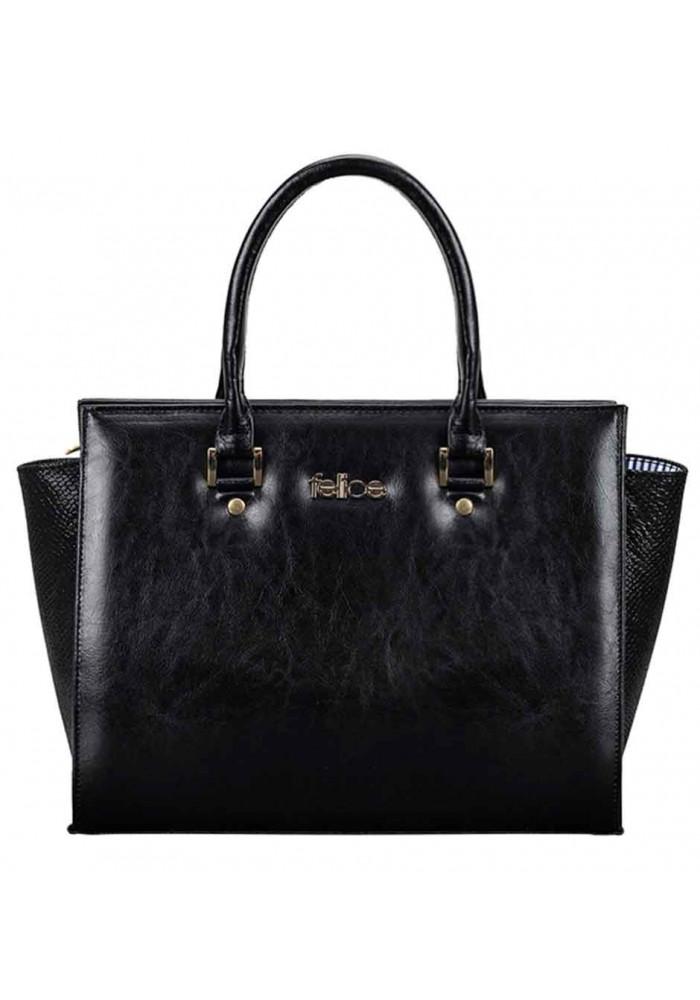Женская кожаная сумка Felice Gatto Black