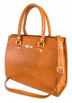 Женская кожаная сумка Felice Gatto Camel, фото №2 - интернет магазин stunner.com.ua