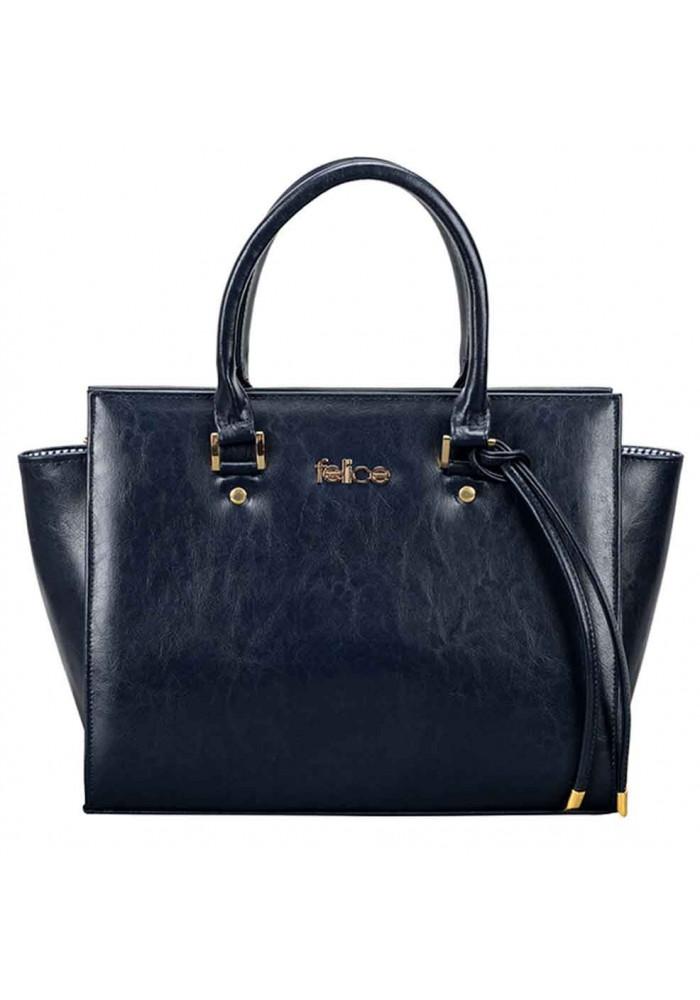 Женская кожаная сумка Felice Gatto Blue