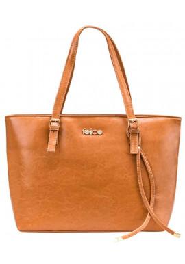 Фото Женская кожаная сумка Felice Luna Camel