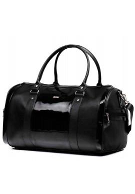 Фото Дорожная сумка с лаковой вставкой Nana Black Varnish