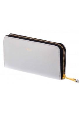 Фото Кожаный женский кошелек Felice P02 Grey