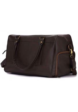 Фото Мужская дорожная сумка Solier S18 Dark Brown