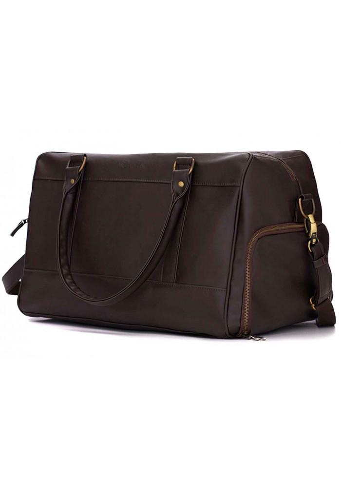 Мужская дорожная сумка Solier S18 Dark Brown
