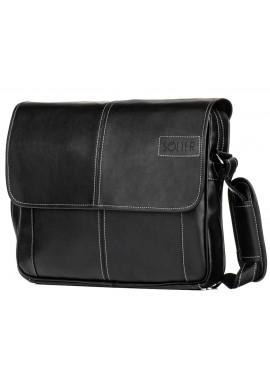 Фото Мужская сумка на плечо Solier S15 Black