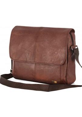 Фото Мужская сумка на плечо Solier S15 Light Brown