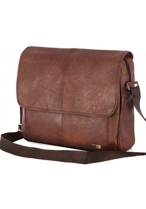 Мужская сумка на плечо Solier S15 Light Brown