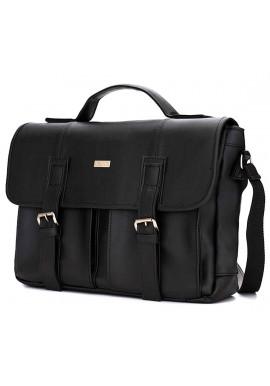 Фото Мужская сумка для города Solier S14 Black