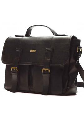 Фото Мужская сумка для города Solier S14 Dark Brown