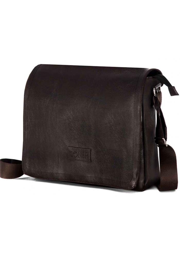 Мужская сумка мессенджер Solier S11 Brown